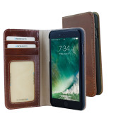 Mobiparts Excellent Wallet Case Apple iPhone 7/8 Oaked Cognac