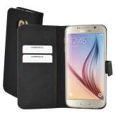 Mobiparts Premium Wallet TPU Case Samsung Galaxy S6 Black