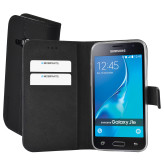 Mobiparts Premium Wallet TPU Case Samsung Galaxy J1 (2016) Black