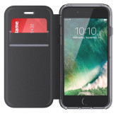 Griffin Survivor Wallet Clear Apple iPhone 6/6S/7 Black/Clear
