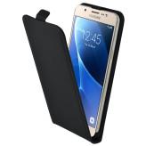 Mobiparts Premium Flip Case Samsung Galaxy J7 (2016) Black