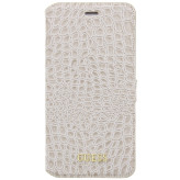Guess Croco Book Case Apple iPhone 7 Shiny Beige