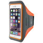 Mobiparts Comfort Fit Sport Armband Apple iPhone 7 Neon Orange