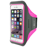Mobiparts Comfort Fit Sport Armband Apple iPhone 7 Neon Pink