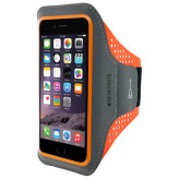 Mobiparts Comfort Fit Sport Armband Apple iPhone 7 Plus Neon Orange