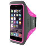 Mobiparts Comfort Fit Sport Armband Apple iPhone 7 Plus Neon Pink