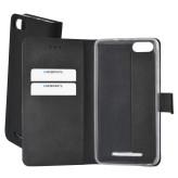 Mobiparts Premium Wallet TPU Case Wiko Lenny 3 Black