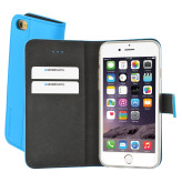 Mobiparts Premium Wallet TPU Case Apple iPhone 6/6S Light Blue