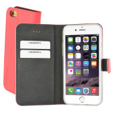 Mobiparts Premium Wallet TPU Case Apple iPhone 6/6S Peach Pink