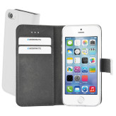 Mobiparts Premium Wallet TPU Case Apple iPhone 5/5S/SE White