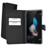 Mobiparts Premium Wallet TPU Case Huawei P8 Lite Black