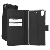 Mobiparts Premium Wallet TPU Case HTC Desire 650 Black