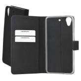 Mobiparts Premium Wallet TPU Case HTC Desire 650 Black