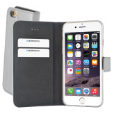 Mobiparts Premium Wallet TPU Case Apple iPhone 6/6S Silver