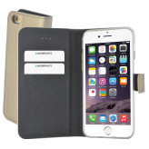 Mobiparts Premium Wallet TPU Case Apple iPhone 6/6S Gold
