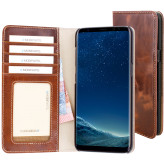 Mobiparts Excellent Wallet Case Samsung Galaxy S8 Oaked Cognac