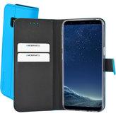 Mobiparts Premium Wallet TPU Case Samsung Galaxy S8 Light Blue