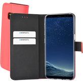 Mobiparts Premium Wallet TPU Case Samsung Galaxy S8 Peach Pink