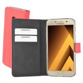 Mobiparts Premium Wallet TPU Case Samsung Galaxy A3 (2017) Peach Pink