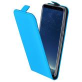 Mobiparts Premium Flip TPU Case Samsung Galaxy S8 Light Blue
