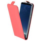 Mobiparts Premium Flip TPU Case Samsung Galaxy S8 Peach Pink