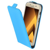 Mobiparts Premium Flip TPU Case Samsung Galaxy A3 (2017) Light Blue