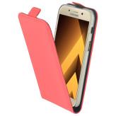 Mobiparts Premium Flip TPU Case Samsung Galaxy A3 (2017) Peach Pink