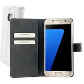 Mobiparts Premium Wallet TPU Case Samsung Galaxy S7 White