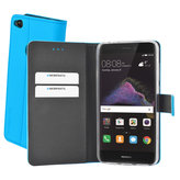 Mobiparts Premium Wallet TPU Case Huawei P8/P9 Lite (2017) Light Blue