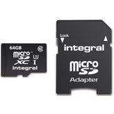 Integral MicroSD 64GB 4k + Adapter (95MB/s Class 10)