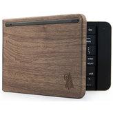 Reveal Bluetooth Foldable Keyboard Wood Grain