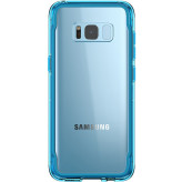 Griffin Survivor Clear Samsung Galaxy S8 Plus Coral Blue
