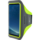 Mobiparts Comfort Fit Sport Armband Samsung Galaxy S8 Plus Neon Green