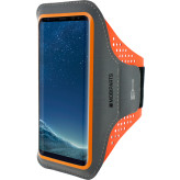 Mobiparts Comfort Fit Sport Armband Samsung Galaxy S8 Plus Neon Orange