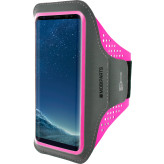 Mobiparts Comfort Fit Sport Armband Samsung Galaxy S8 Plus Neon Pink