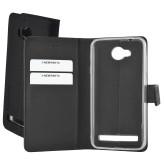 Mobiparts Premium Wallet TPU Case Huawei Y3 II Black