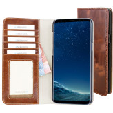 Mobiparts Excellent Wallet Case Samsung Galaxy S8 Plus Oaked Cognac