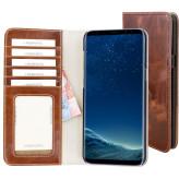Mobiparts Excellent Wallet Case Samsung Galaxy S8 Plus Oaked Cognac