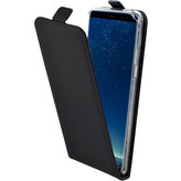 Mobiparts Premium Flip TPU Case Samsung Galaxy S8 Plus Black