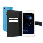 Mobiparts Premium Wallet TPU Case Huawei P10 Lite Light Blue