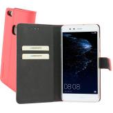Mobiparts Premium Wallet TPU Case Huawei P10 Lite Peach Pink