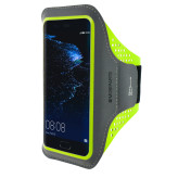 Mobiparts Comfort Fit Sport Armband Huawei P10 Neon Green