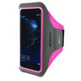 Mobiparts Comfort Fit Sport Armband Huawei P10 Neon Pink