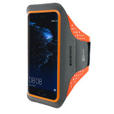 Mobiparts Comfort Fit Sport Armband Huawei P10 Neon Orange