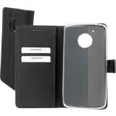 Mobiparts Premium Wallet TPU Case Motorola Moto G5 Black