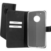 Mobiparts Premium Wallet TPU Case Motorola Moto G5 Plus Black