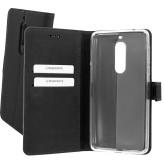 Mobiparts Premium Wallet TPU Case Nokia 5 Black