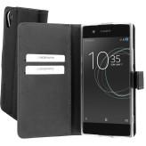 Mobiparts Premium Wallet TPU Case Sony Xperia XA1 Black
