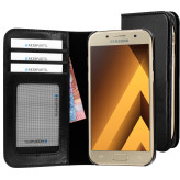 Mobiparts Excellent Wallet Case Samsung Galaxy A3 (2017) Jade Black