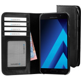 Mobiparts Excellent Wallet Case Samsung Galaxy A5 (2017) Jade Black